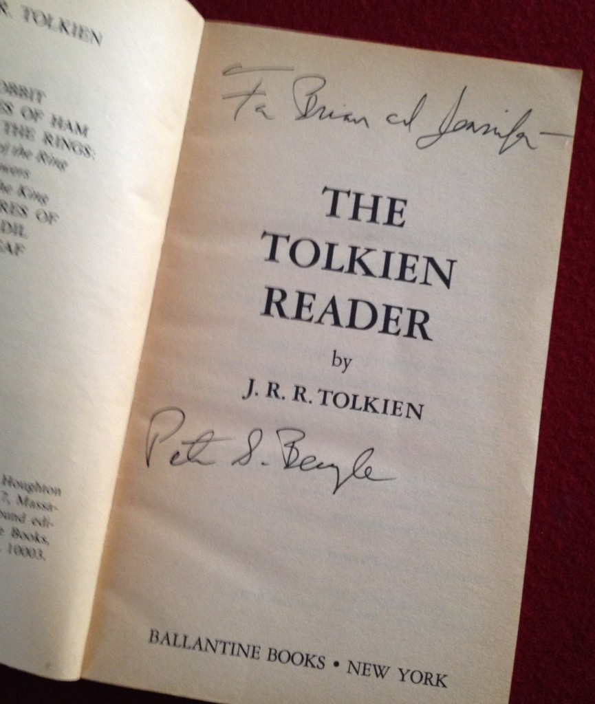 We couldn't have it signed by Tolkien, after all.
